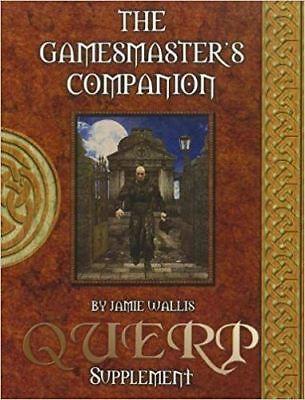 Il Gamesmaster's Companion-un Supplemento Querp-mostra Il Titolo Originale Completa In Specifiche