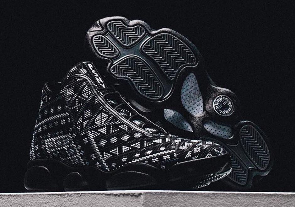 Nike Nike Nike Air Jordan PSNY Horizon SZ 10 nero bianca Public School Retro 827432-002 65db04