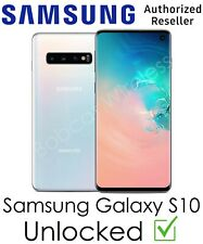NEW Samsung Galaxy S10 White 128GB Sprint AT&T T-Mobile Verizon Factory Unlocked