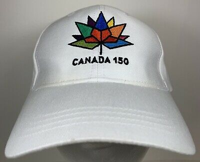 CANADA 150 Year Anniversary 1867-2017 Colored Logo Red TOQUE HAT..Momento..New