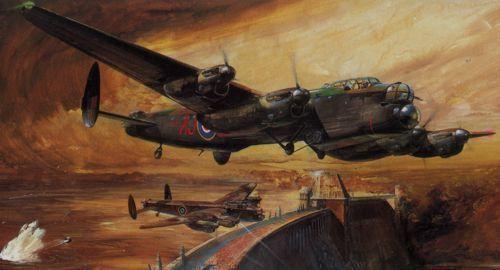 Avro Lancaster B Mk.I III  Dambuster  Grand Slam Bomber 1 48 Tamiya 61111