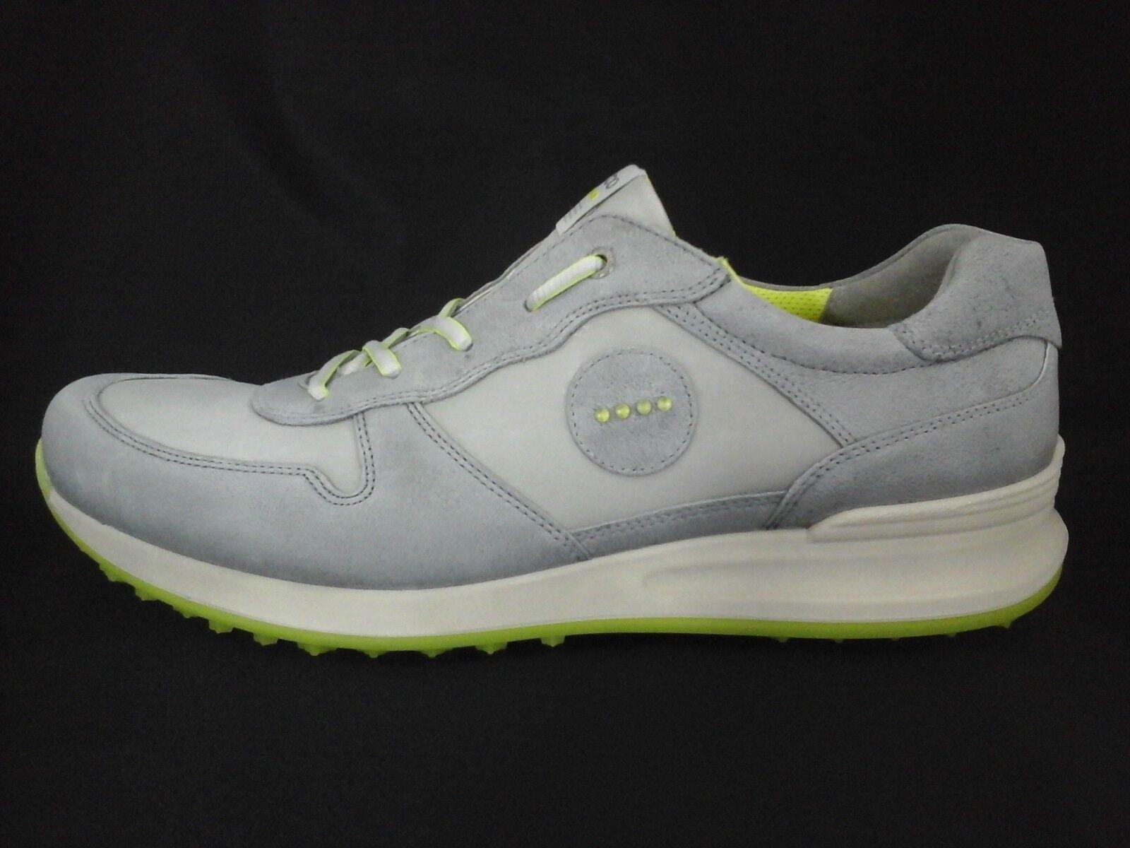 Ecco Golf Shoes Speed Hybrid Titanium/Wild Dove Leather Mens US 13/13.5/47 180