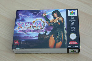 XENA-Warrior-Princess-Nintendo-64-PAL-Brand-New-Factory-Fresh