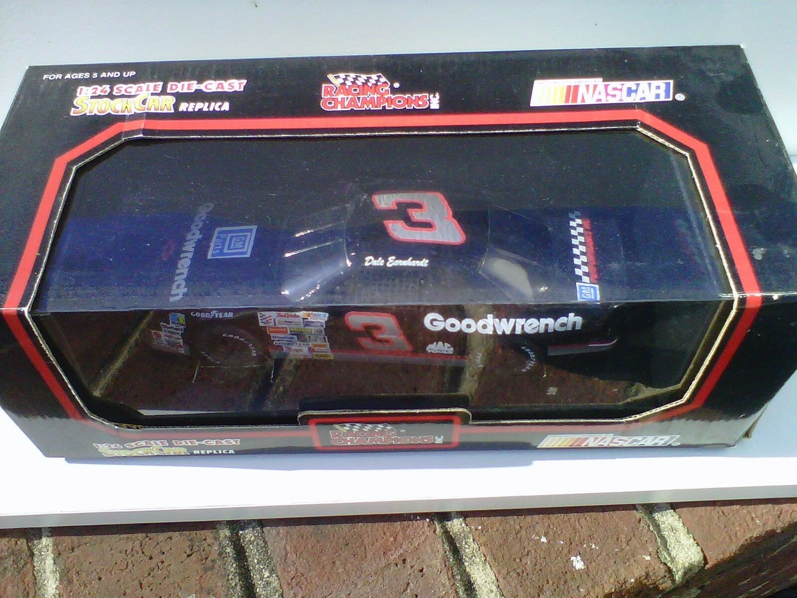 1992 Dale Earnhardt 1 24 Black Box Racing Champion  1 of very first diecast made