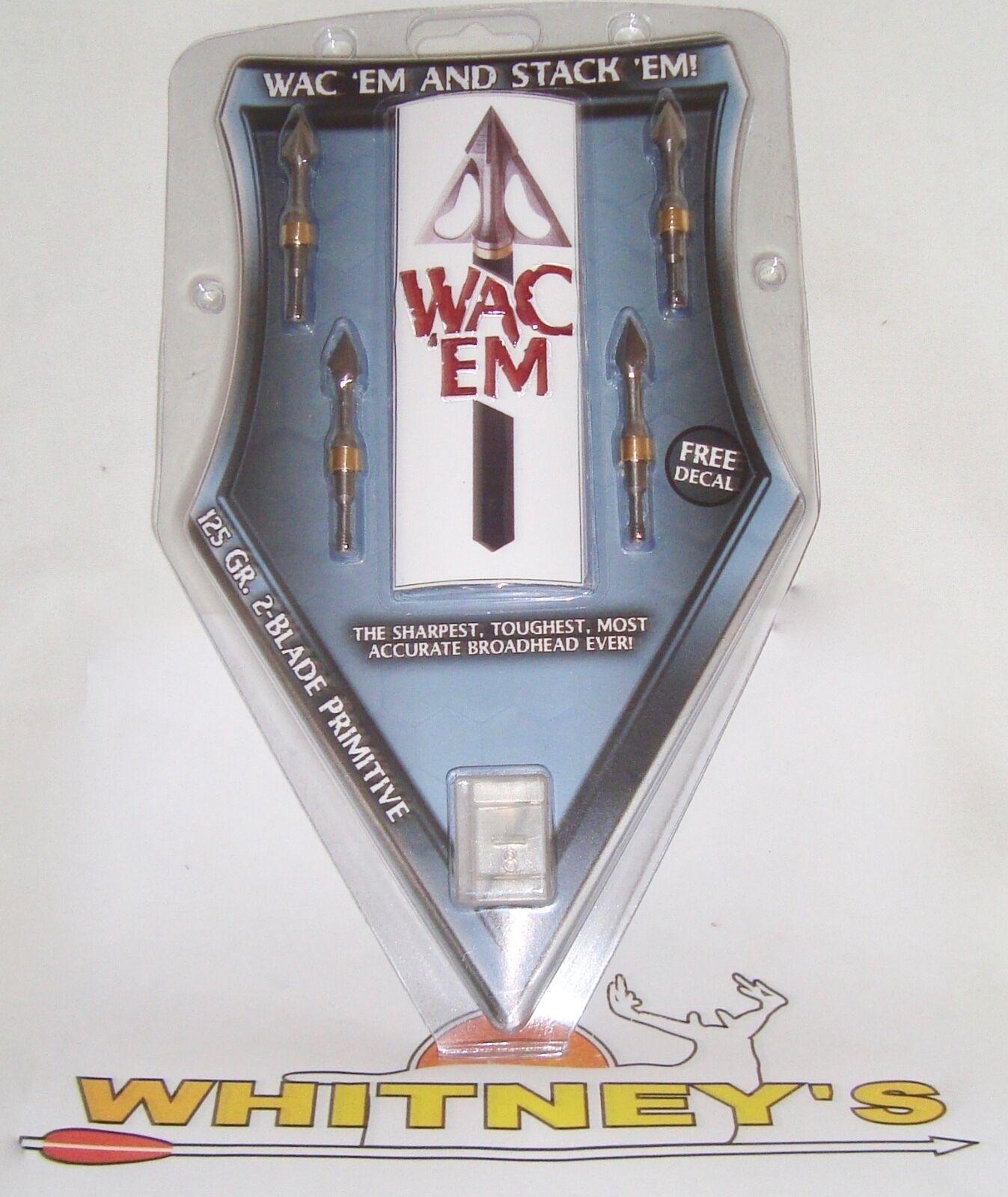 Wac' Em Primitive 125 Grain-2125
