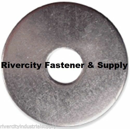 "#8x3//4 Fender Washers Stainless Steel 8 x 3//4/"" Large OD Washer 500"