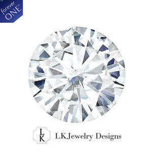 0.16 CT MOISSANITE FOREVER ONE ROUND LOOSE STONE - 3.5 mm