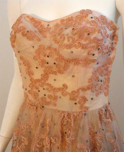 CEIL CHAPMAN 1960s Vintage Cocktail Dress - image 9