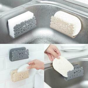 Sponges-Holder-Rack-Drying-Sink-Storage-Cup-Dish-Scrubbers-Kitchen-Bathroom-K1Q1