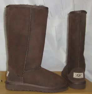 1cd4911692c Details about UGG Australia Chocolate Classic Tall Suede Boots KIDS Girls  Size US 2 NEW #5229