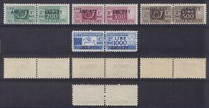 Trieste A 1949-54 Pacchi postali 2° emissione 14 val. nuova MNH** gomma integra