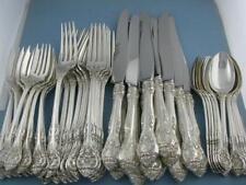 Sterling GORHAM Flatware Set - Dinner Size service for 12 - KING EDWARD ~no mono