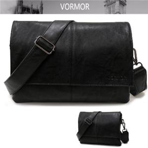 Men Shoulder Messenger Bag Male Leather Crossbody Bags Man Travel Briefcase Bags
