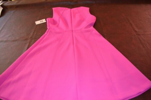 NWT IVANKA TRUMP DRESS IN3DHP Pink Polyester Spandex Size 8 or 10 Business