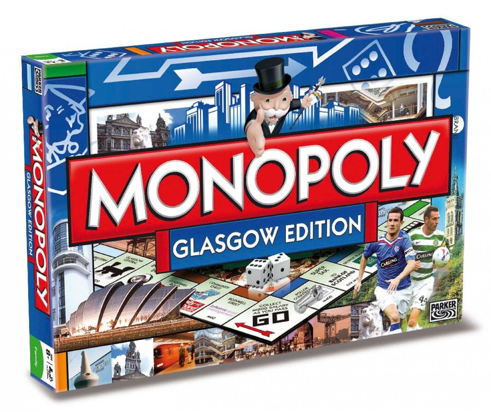 Original Monopoly Glasgow Edition Englisch Party Game Board Game New
