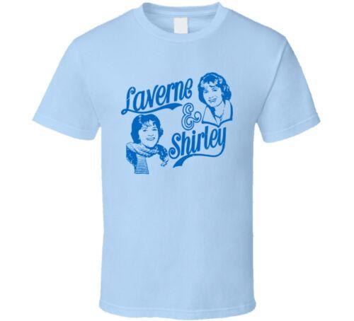 Laverne /& SHIRLEY TV 70 S Drôle sitcom Retro Beer T Shirt