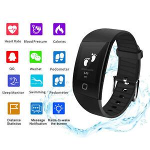 Smartwatch Fitness Tracker Bluetooth Armband Sport Uhr IP68 Wasserdicht