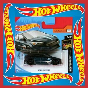 Hot-Wheels-2019-Ford-Focus-RS-139-250-neu-amp-ovp
