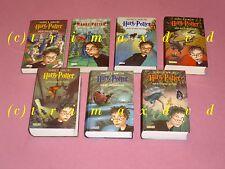 Harry Potter Komplett 1-7 gebundene Ausgaben _ Harry Potter 1 2 3 4 5 6 7