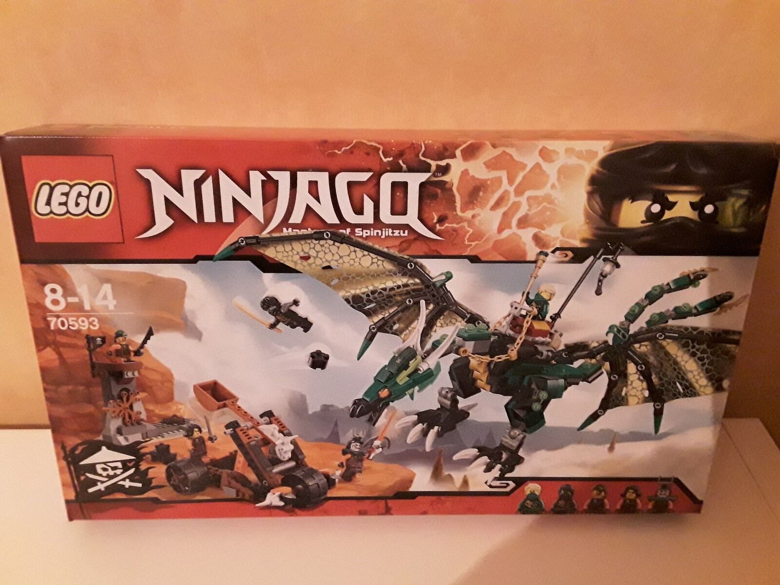 LEGO - 70593 70593 70593 - NINJAGO  Le dragon émeraude de Lloyd 755339