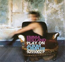 EMMA HOLLAND PLAY ON ALBUM SAMPLER RARE PROMOTIONAL CD Clearance Bargain Price
