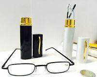 Lesehilfe Lesebrille Brille Sehhilfe +1,0/1,5/2,0/2,5/3,0/3.5/4.0 mit Etui