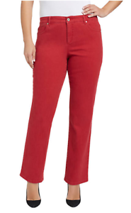 212ecfaa4d4cb NWT Bandolino Plus Size Mandie Twill Jeans Flawless Stretch Apple ...