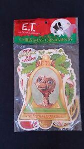 Christmas City Studios.Details About 4 Vintage E T Paper Ornaments Unopened 1982 Universal City Studios