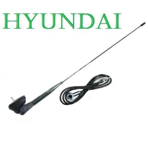 HYUNDAI Accent Atos Sonata i10 DACHANTENNE Mit ANTENNENFUß /& DICHTUNG $$$.