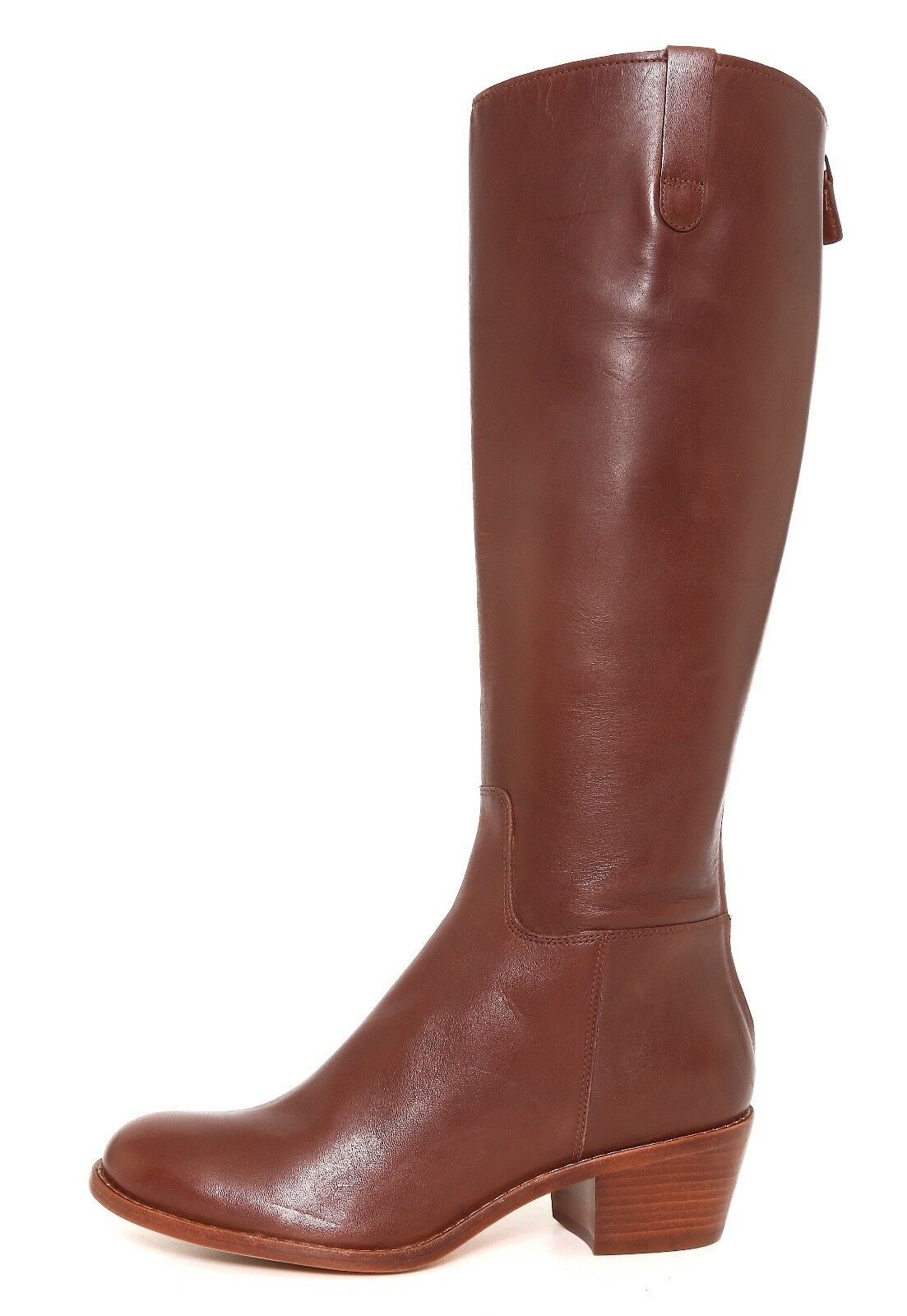 a buon mercato Cole Haan Wesley Wesley Wesley Leather Tall avvio Chestnut donna Sz 5.5 B 6680   economico