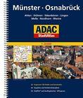 ADAC Stadtatlas Münster/Osnabrück mit Ahlen, Dülmen, Ibbenbüren, Lingen, Melle, (2015, Ringbuch)