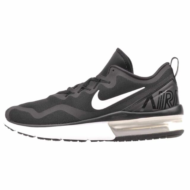 61471bbe947 Nike Women s Air Max Fury Running Shoes Black White AA5740 001 Multiple  Sizes