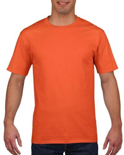 Gildan Mens Womens Premium Softstyle Ringspun Plain Cotton T-Shirt Tee Tshirt