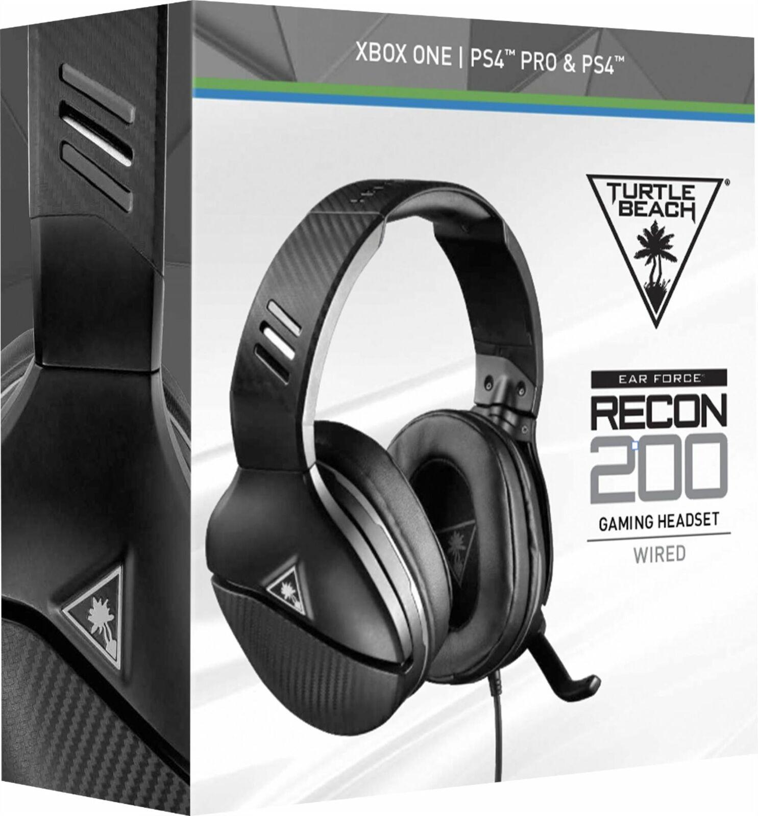 63263ecdd3c Turtle Beach Recon 200 Multi Platform Gaming Headset - Black for sale  online | eBay