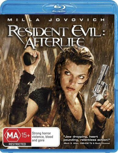 1 of 1 - Resident Evil - Afterlife (Blu-ray, 2011)