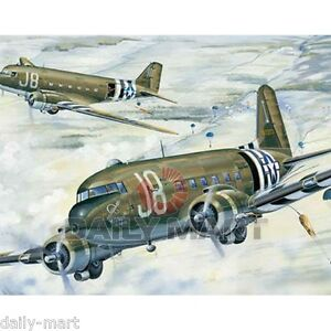 American-C-47A-Skytrain-Transport-02828-1-48-Aircraft-Static-Trumpeter-Kit-Model