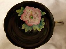 Shafford Japan Hand Painted Tea Cup Edged in Gold