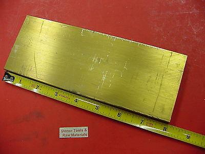 "3//8/"" x 2/"" Brass Flat Bar Stock 10/"" Long Free Cutting C360 H02"