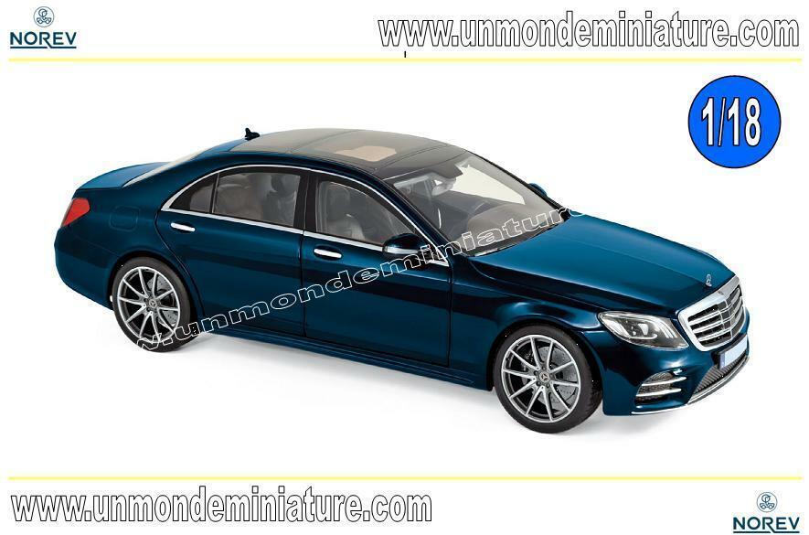 Mercedes-Benz S-Class AMG-Line 2018 Dark blu metallic  NOREV - NO 183478 - 1 18