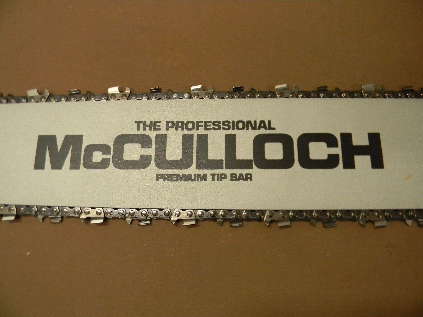 McCulloch 32  Bar 105 125 D44 1-40 1-60 1-70 250 300 450 550 790 795 1000 81