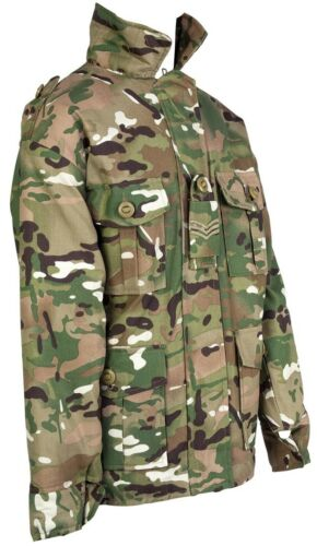 Kids Combat Jacket Camo Coat Childrens MTP Camo Army Clothing Padded Quilted