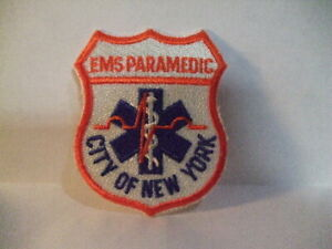 EMS PARAMEDIC CITY OF NEW YORK PATCH