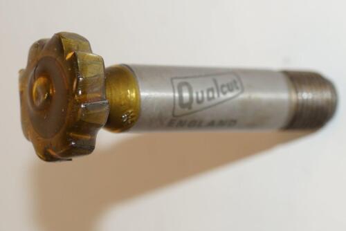 "NOS Qualcut UK No607 HSS Woodruff Key Cutter 7//8/"" x 3//16/"" x1//2/""  Threaded Shank"
