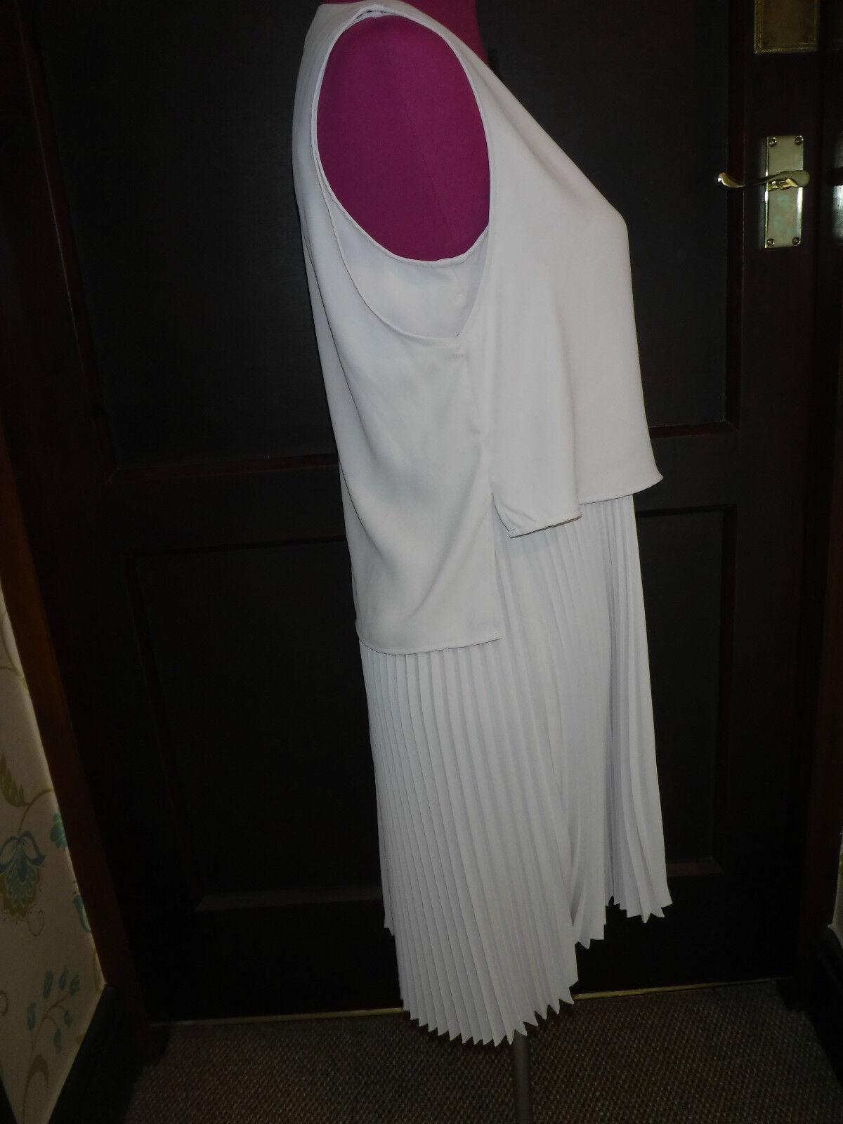 Incredibile Vestito Vestito Vestito All Saints TAYA camirosa Taglia 10 NUOVO CON ETICHETTA e5892a