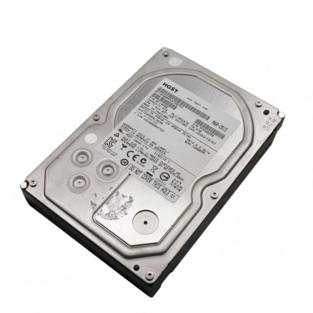 "Hitachi 4TB SATA 7.2K 3.5"" HDD Hard Drive HUS724040ALA640 0F14688"
