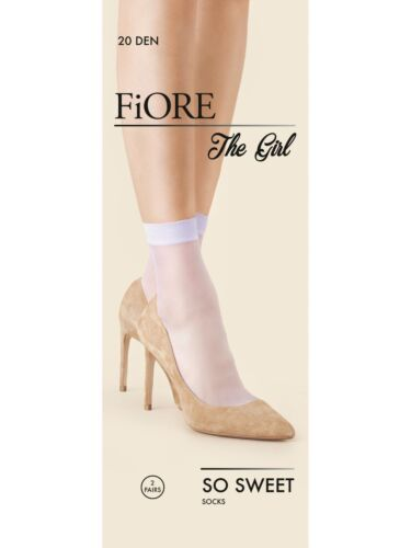 FIORE So Sweet Luxury Super Fine 20 Denier Sheer Socks