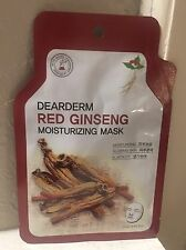 12 for $16 Red Ginseng Korean Dearderm Facial Mask Sheets (23g) US SELLER
