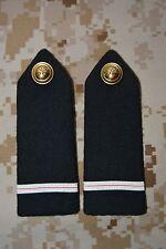 E016 passant pattes d'épaule épaulettes fourreaux insigne militaire armée galon