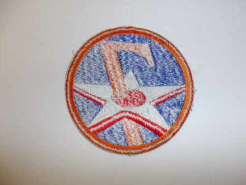 0414 WW2  Large 7th US Army Air Force Patch R13B