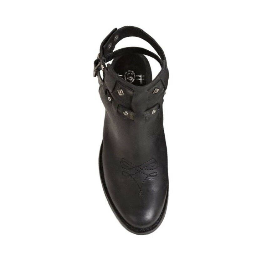 Circle G by by by Corral Ladies Black Straps and Studs Sandal P5180 1050d9